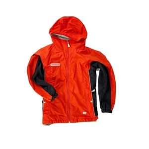 Columbia Youth Black Red Colorblock Winter Jacket